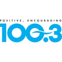 Logo of radio station KKLQ K-LOVE 100.3 FM