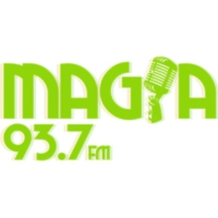 Logo of radio station XHKL Magia 93.7 FM