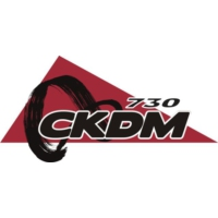 Logo of radio station 730 CKDM