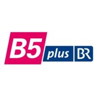 Logo of radio station B5 Plus