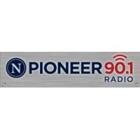 Logo of radio station KSRQ Pioneer 90.1
