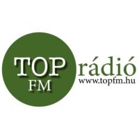 Logo of radio station TOP FM rádió