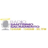 Logo de la radio KCVV Radio Santisimo Sacramento