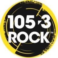 Logo of radio station CKMH-FM 105.3 ROCK