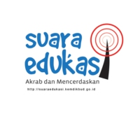 Logo of radio station Suara Edukasi