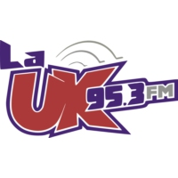 Logo of radio station XHUK-FM La UK 95.3 FM
