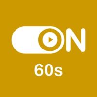 "Logo of radio station ""ON 60s"""