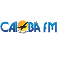 Logo of radio station Caiobá FM