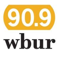 Logo of radio station WBUR 90.9 FM
