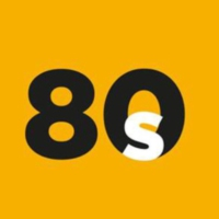 Logo of radio station RADIO BERN1 - 80s