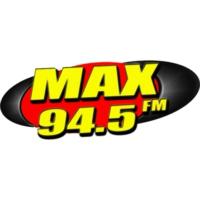 Logo de la radio MAX FM 94.5
