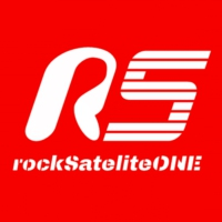 Logo of radio station rockSateliteONE
