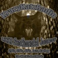 Logo of radio station 1KKR - Sentimental Journey