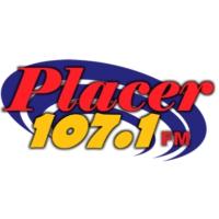 Logo of radio station KEGH Placer 107.1FM
