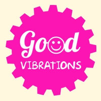 Logo of radio station Good Vibrations