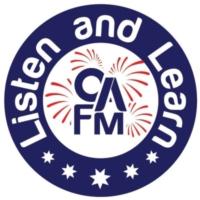 Logo of radio station CA FM