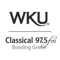 Logo of radio station WKU Classical 97.5 FM