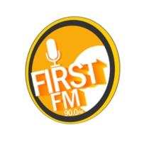 Logo of radio station First Fm 90.0