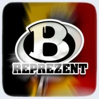 Logo of radio station Belgium Reprezent