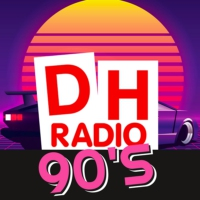Logo of radio station DH Radio 90