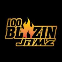 Logo of radio station 100 Blazin' Jamz