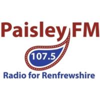 Logo de la radio Paisley FM 107.5