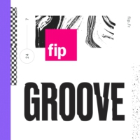 Logo of radio station FIP Groove