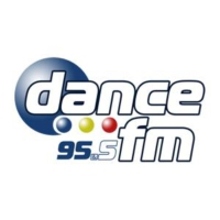 Logo of radio station Dance FM 95.5