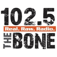 Logo of radio station WHPT 102.5 The Bone