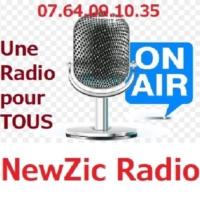 Logo of radio station NewZic Radio