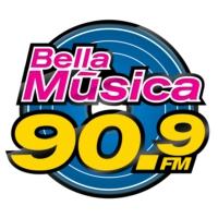 Logo of radio station XHVER Bella Música FM 90.9