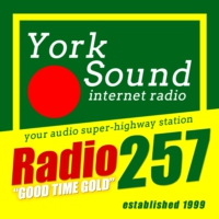 Logo of radio station YorkSound Radio