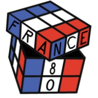 Logo of radio station France 80
