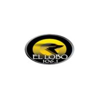 Logo of radio station XHSU El LOBO 106.1