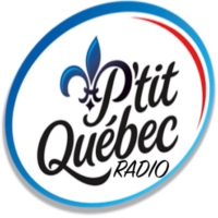 Logo of radio station P'tit Quebec Radio