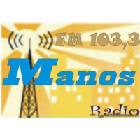 Logo de la radio Rádio Mános 103.4 - Ράδιο Μάνος 103.4