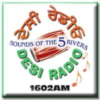 Logo de la radio Desi Radio