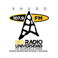 Logo of radio station Radio UdeG Ocotlán 107.9 FM