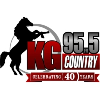 Logo of radio station CKGY KG Country 95.5 FM