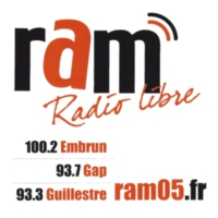 Logo of radio station RAM radio libre