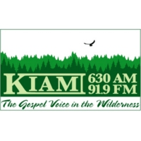 Logo of radio station KIAM-FM