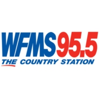 Logo of radio station WFMS 95.5