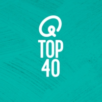 Logo of radio station Q-Top 40