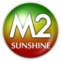 Logo of radio station M2 SUNSHINE