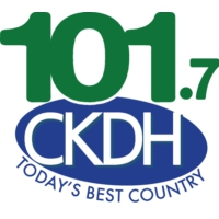 Logo of radio station 101.7 CKDH