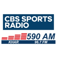 Logo of radio station KHAR CBS Sports 590