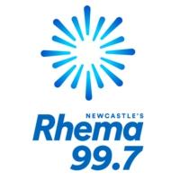 Logo of radio station Rhema 99.7 Newcastle
