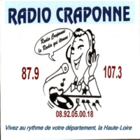 Logo of radio station Radio Craponne