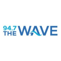 Logo of radio station KTWV 94.7 The WAVE