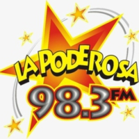 Logo of radio station XHBF La Poderosa 98.3 FM